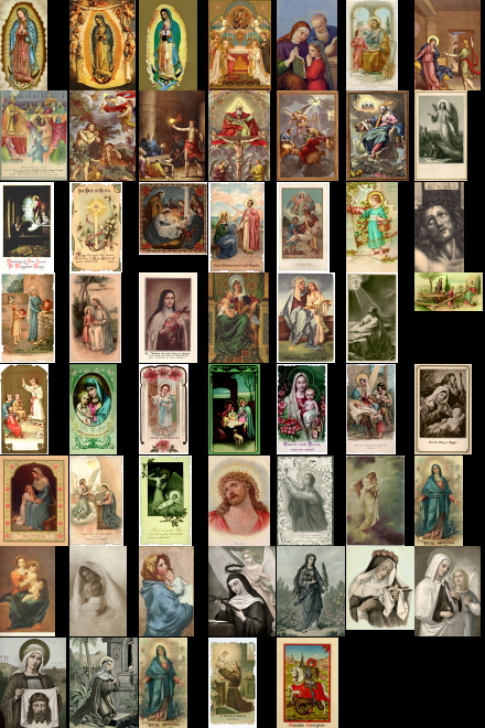 Antique Holy Cards Volume 1 CD images