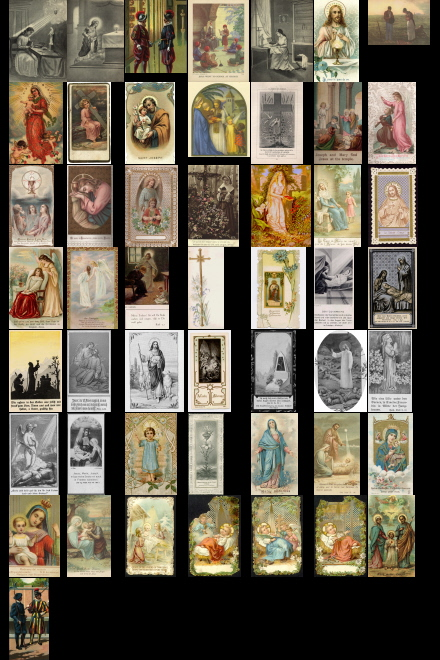Antique Holy Cards Volume 2 images