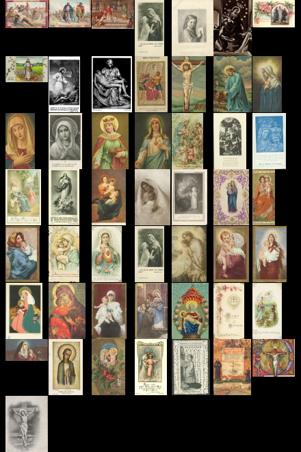 Antique Holy Cards volume 7 images